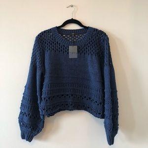 FATE Blue Sweater